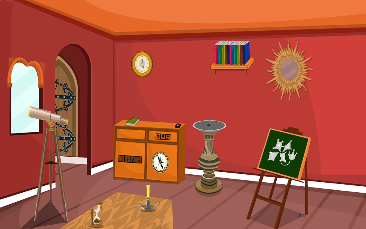 Escape Game-Astronomers Room