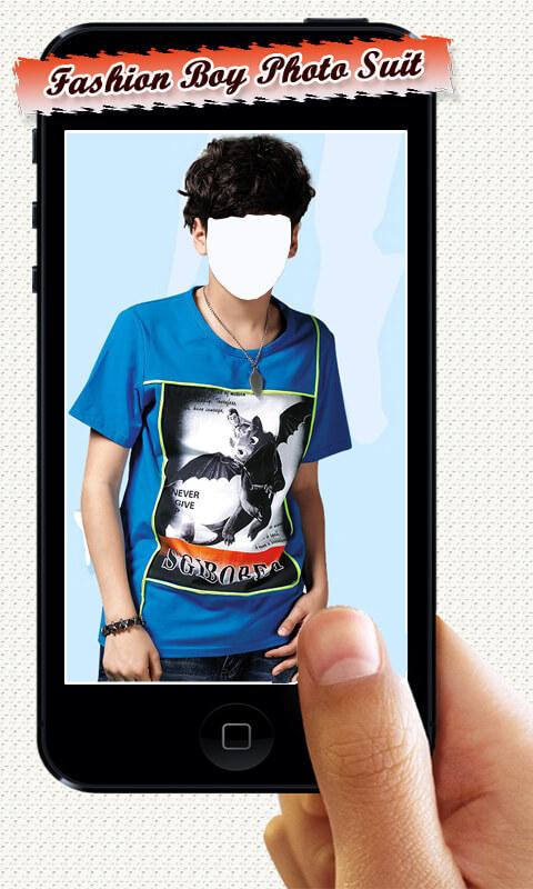 Fashion Boy Photo Suit