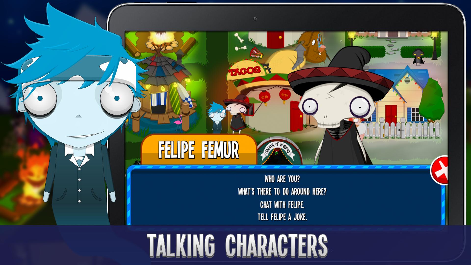 Felipe Femur & Friends