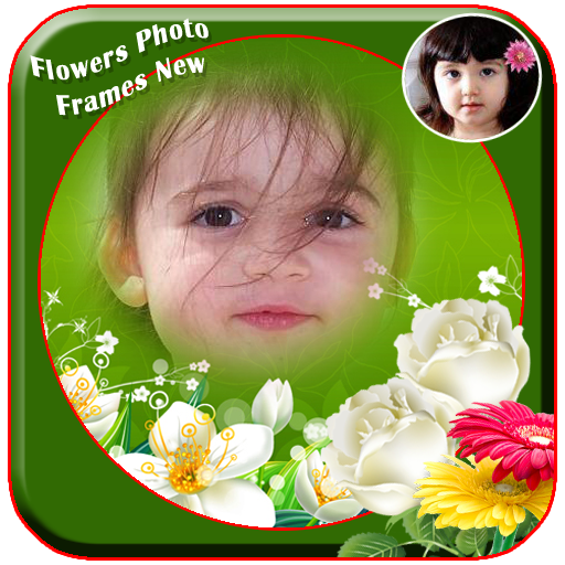 Flowers Photo Frames New