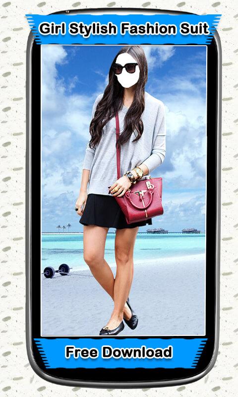 Girl Stylish Fashion Suit