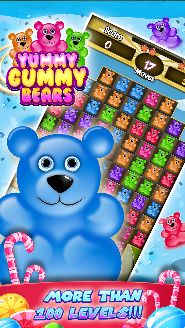 Gummy Yummy Bears Puzzle