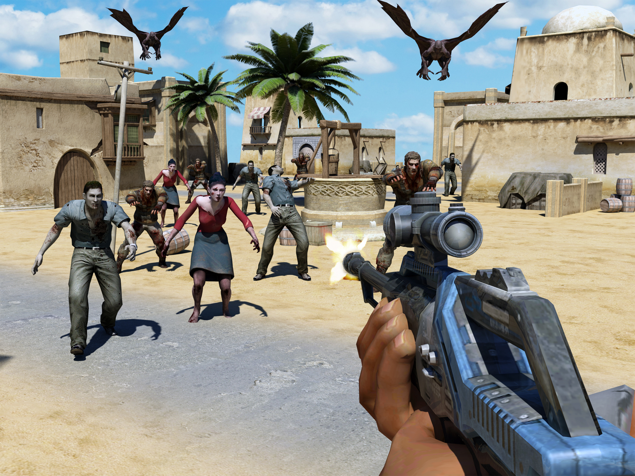 Gunner Trigger zombie Battle