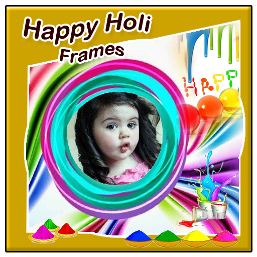 Happy Holi Frames New