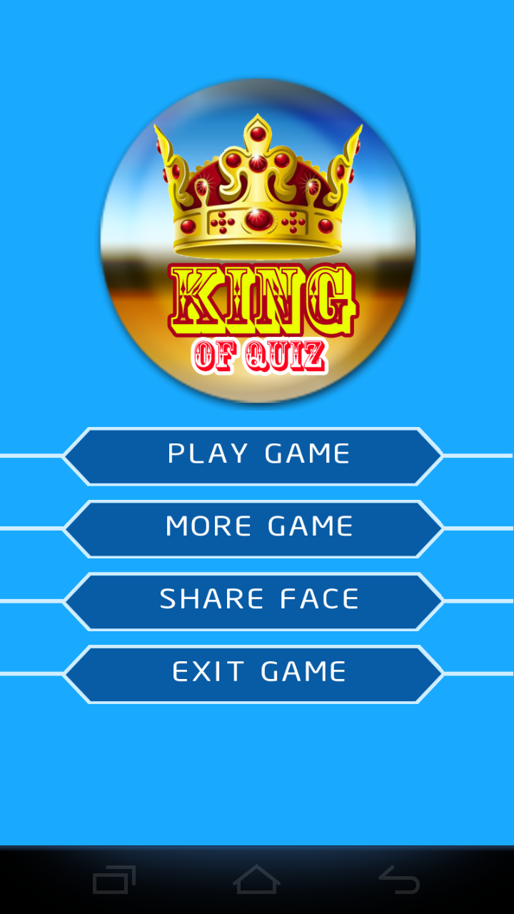 KING OF QUIZ