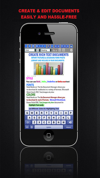 MobileOffice - Word Processor and Reader for Microsoft Office