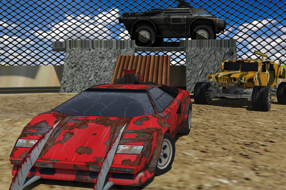 Monster car and Truck fighter
