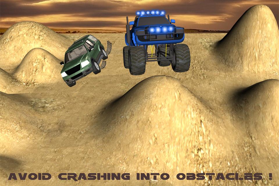 Monster Truck Hill Climb