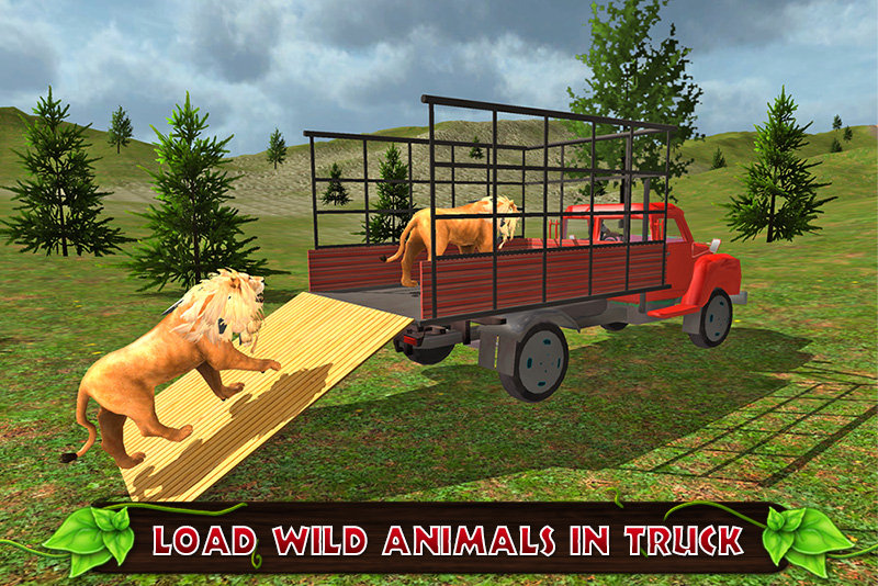 Offroad Transport Zoo Animals