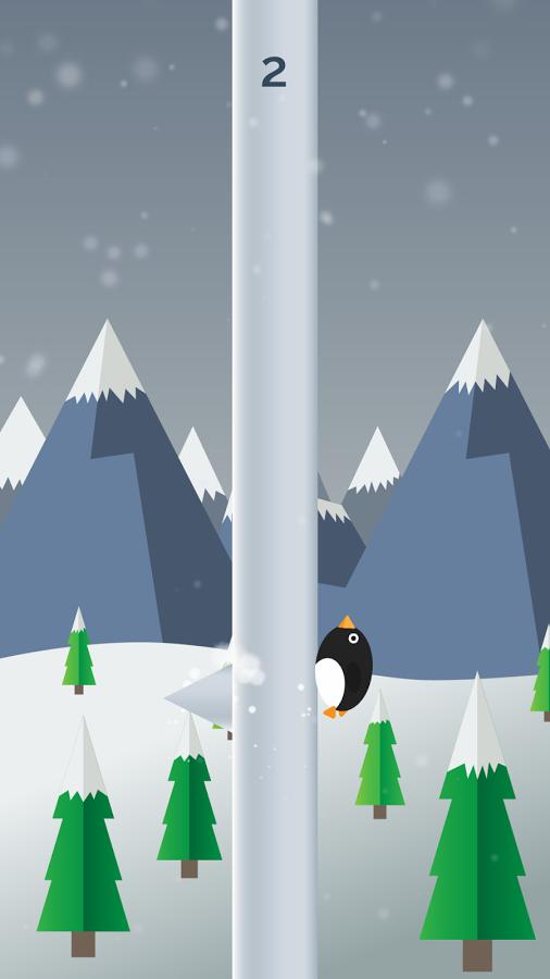 Penguin Run, Cartoon