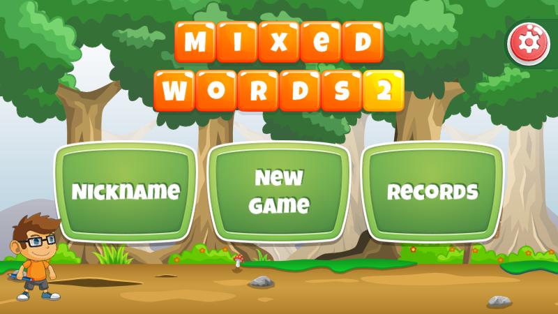 Mixed Words English 2