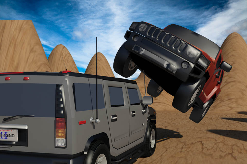 Safari Desert Racing 3D Stunt