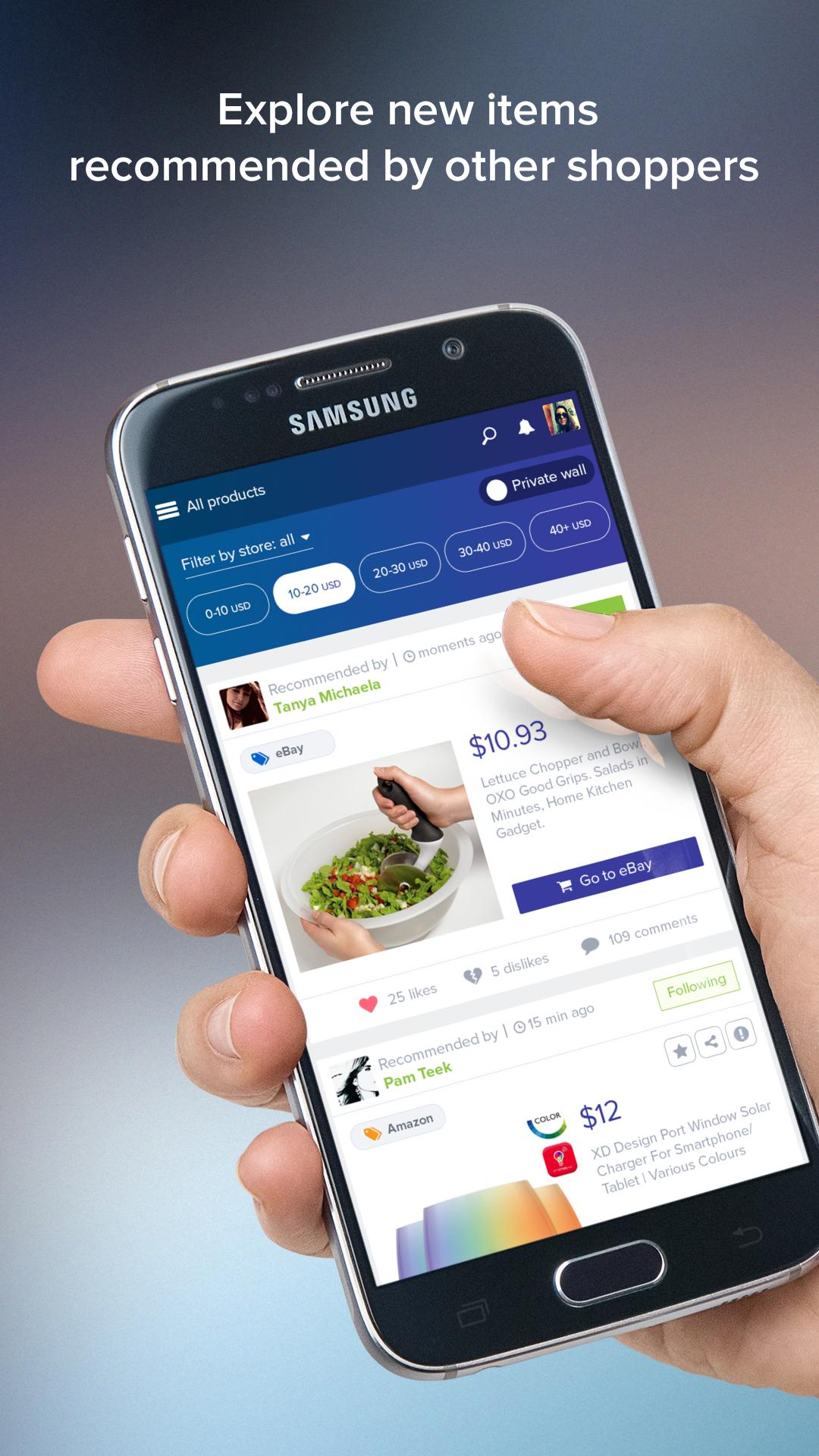 ShopTipz - Social Shopping App