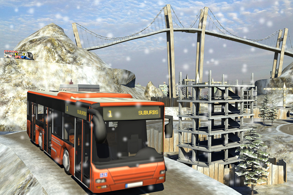 Snow Hill Bus Drivingsimulator