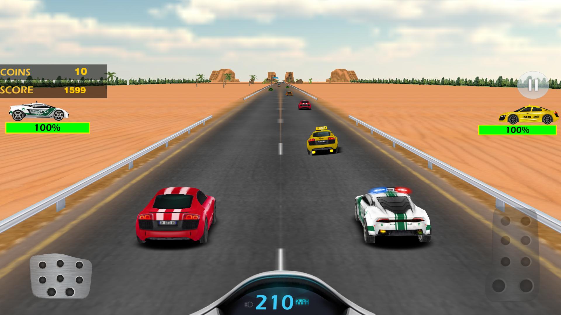 Car Racing-police Chase
