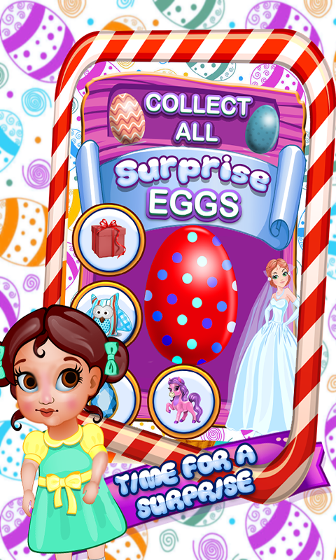 Surprise eggs Doll house Toys