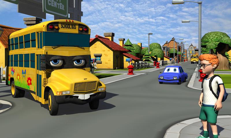 Talking School Bus Simulator