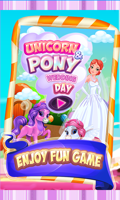Unicorn & Pony Wedding day fun