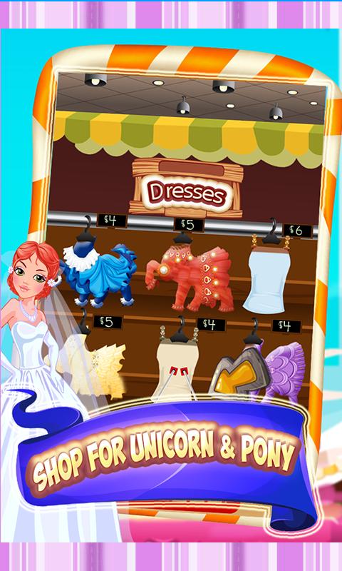 Unicorn & Pony Wedding day fun