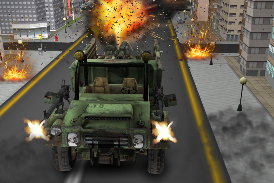 war destruction Highway racer