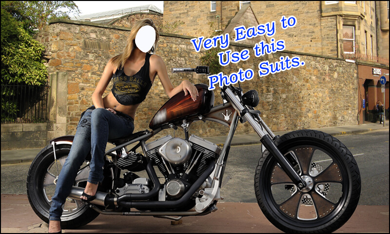 Women Bike Photo Montage New