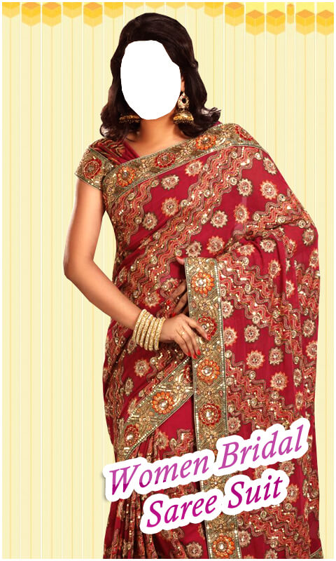 Women Bridal Saree Suit