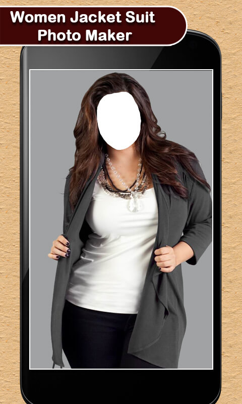 Women Jacket Suit Photo Maker
