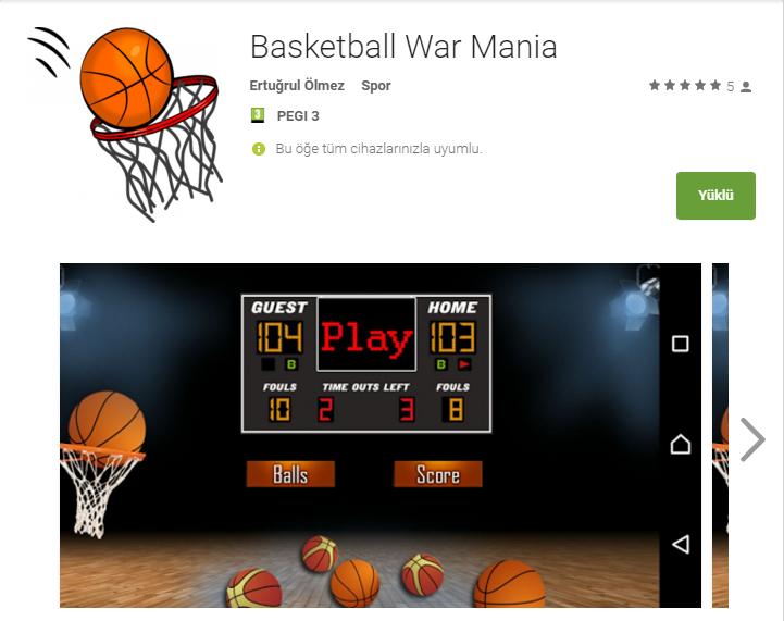 Basketball War Mania