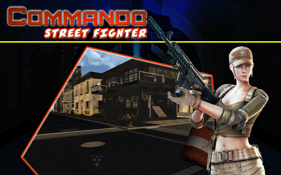 Commando Street Fighte
