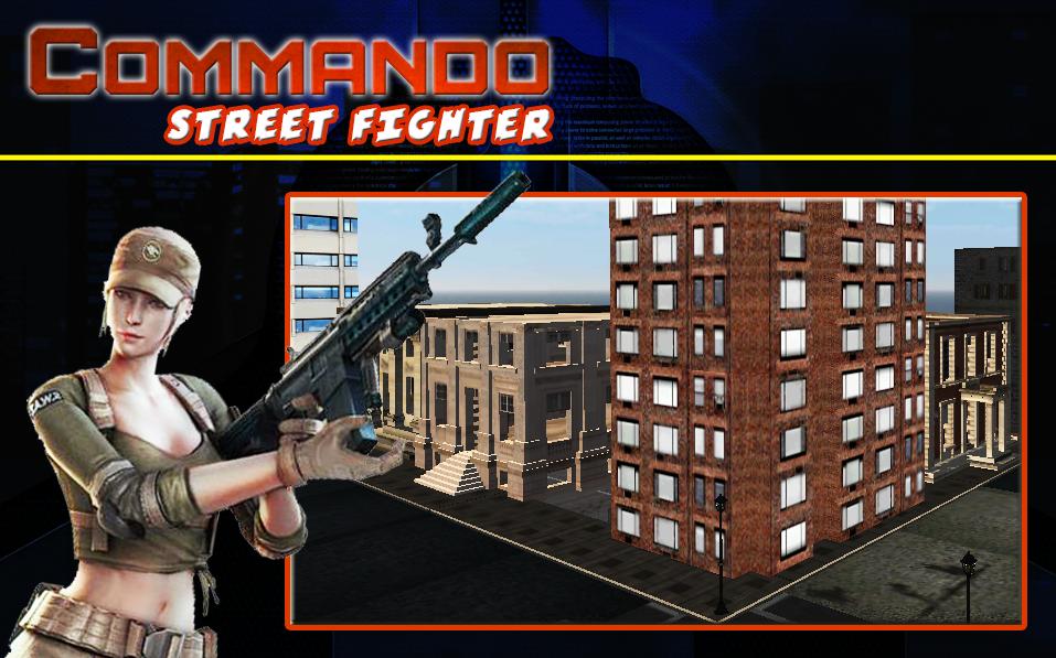 Commando Street Fighte