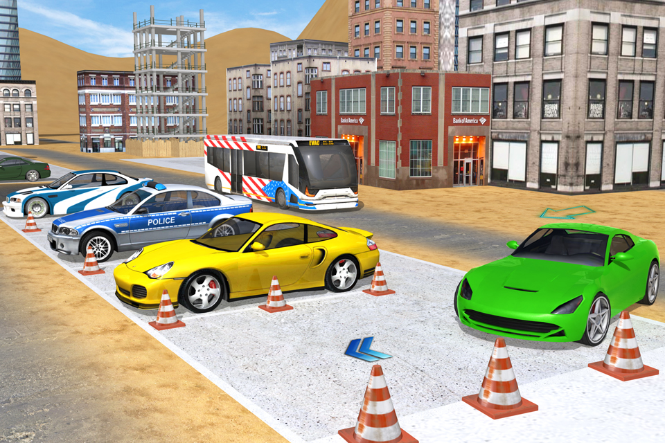 Desert Multilevel Car parking