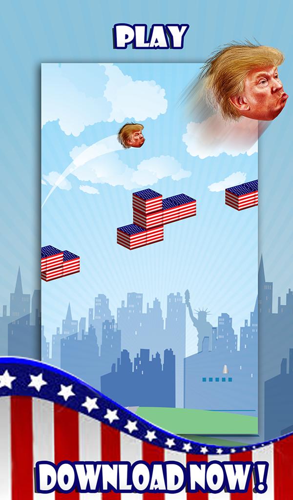 Dump , Jump , Punch - Trump!!!
