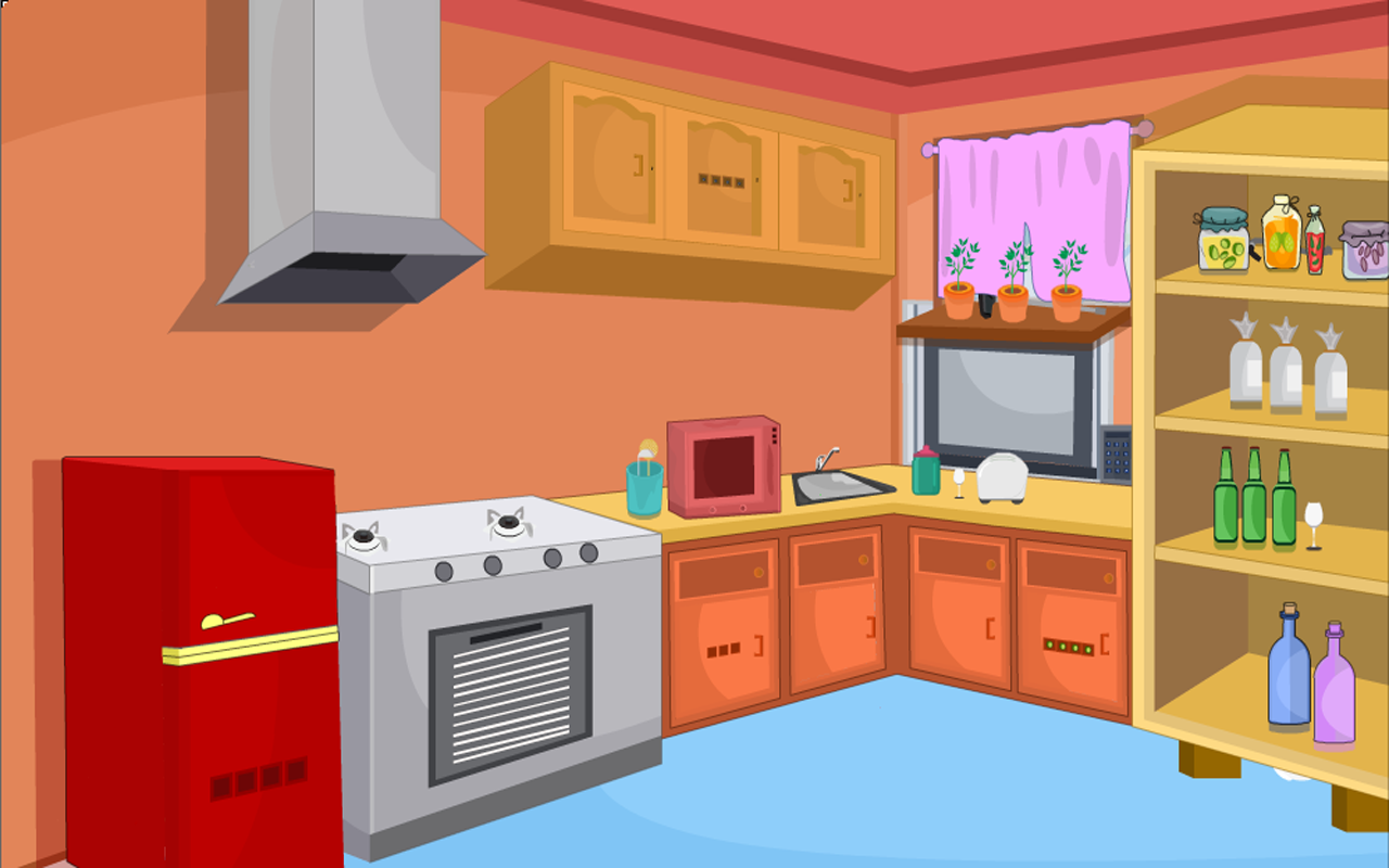 Escape Game-Forgotten Kitchen