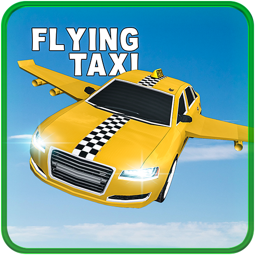 Flying Taxi: Real Pilot 3D