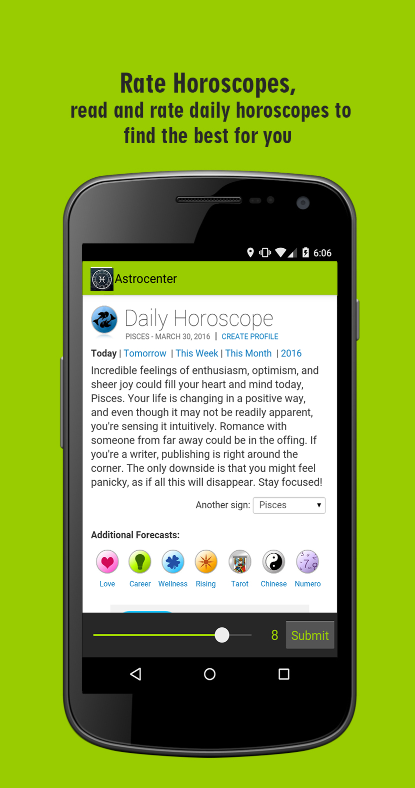 Horoscope Evaluator
