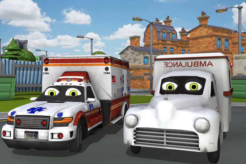 Kids Ambulance Driver
