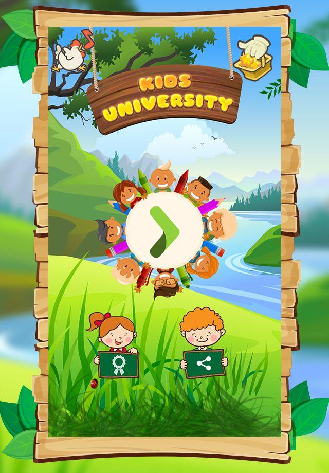 Kids University Learning Game