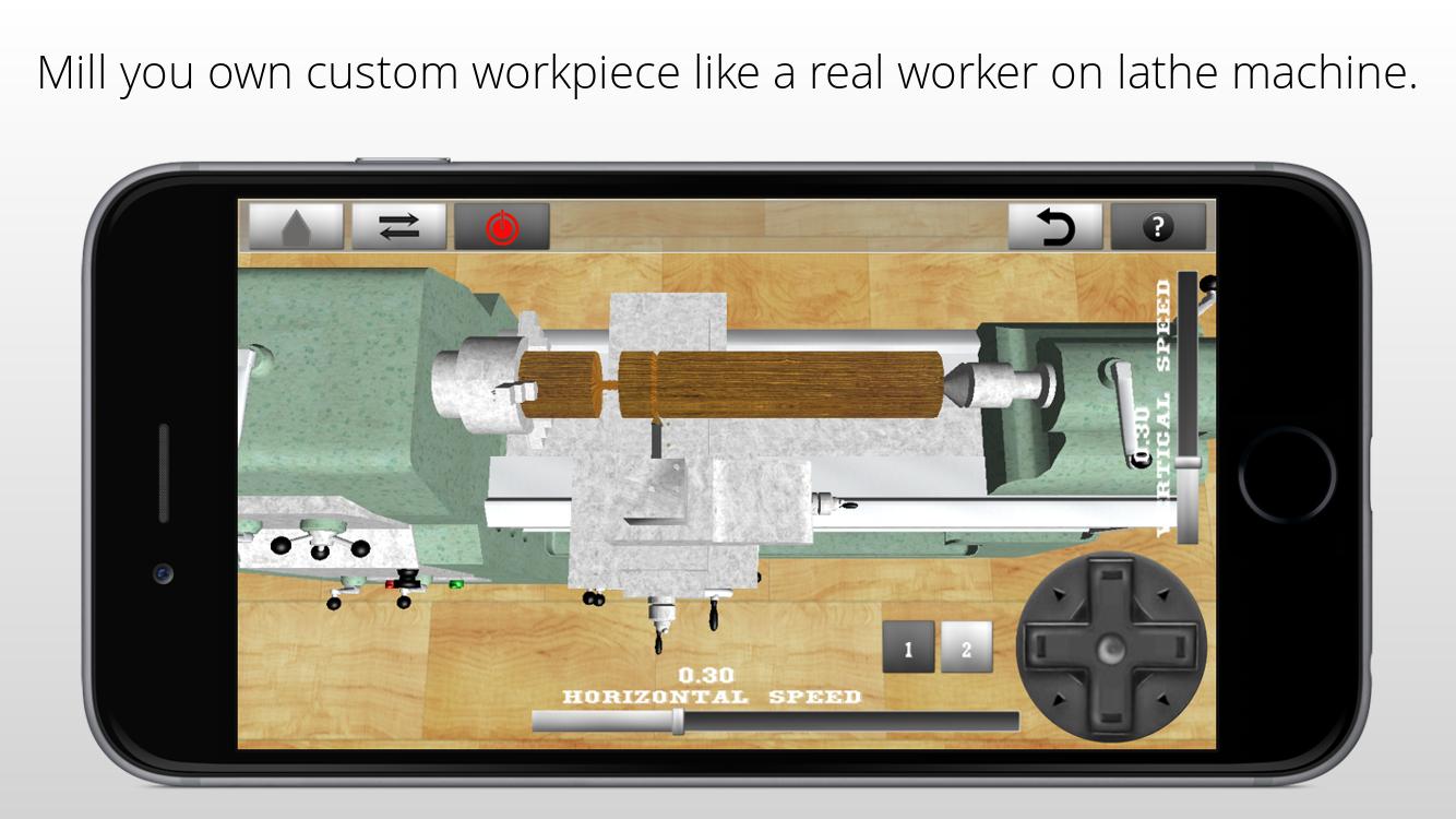 Lathe Worker