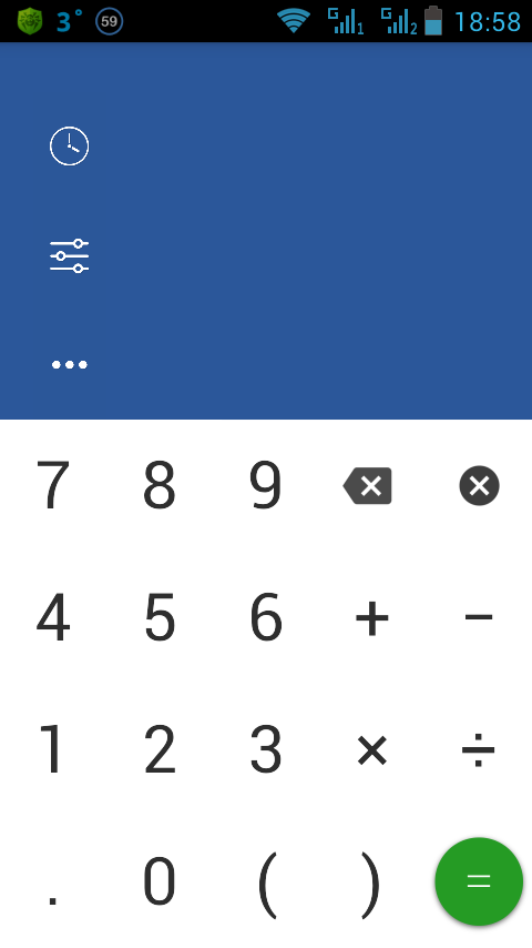 Mobile Calculator for Android