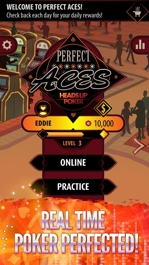 Perfect Aces: Heads Up Poker