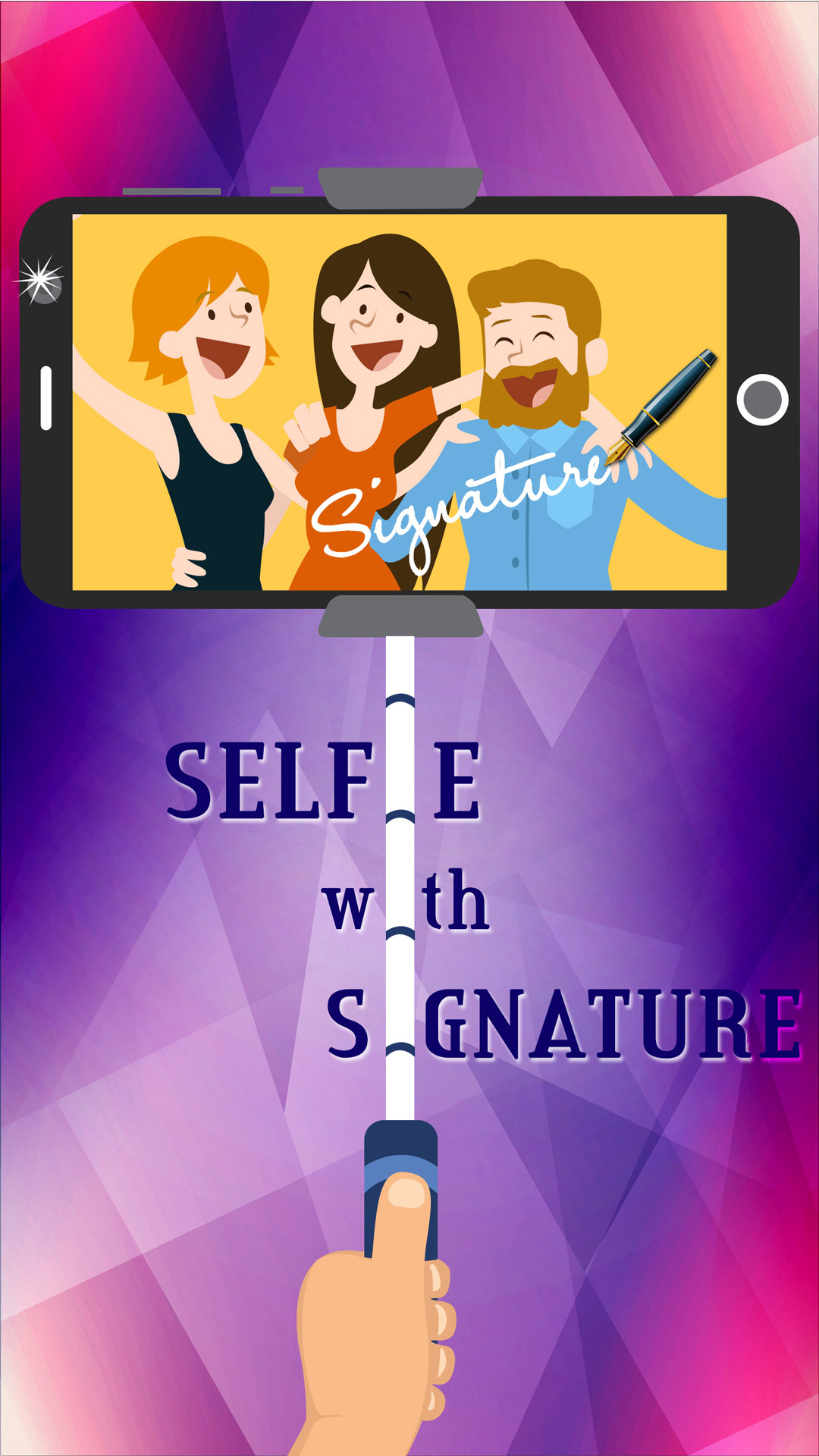 Selfie with Signature