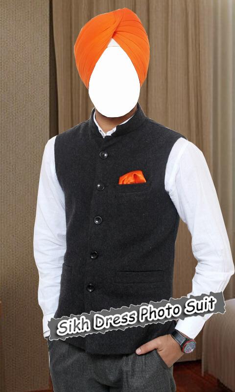 Sikh Dress Photo Suit