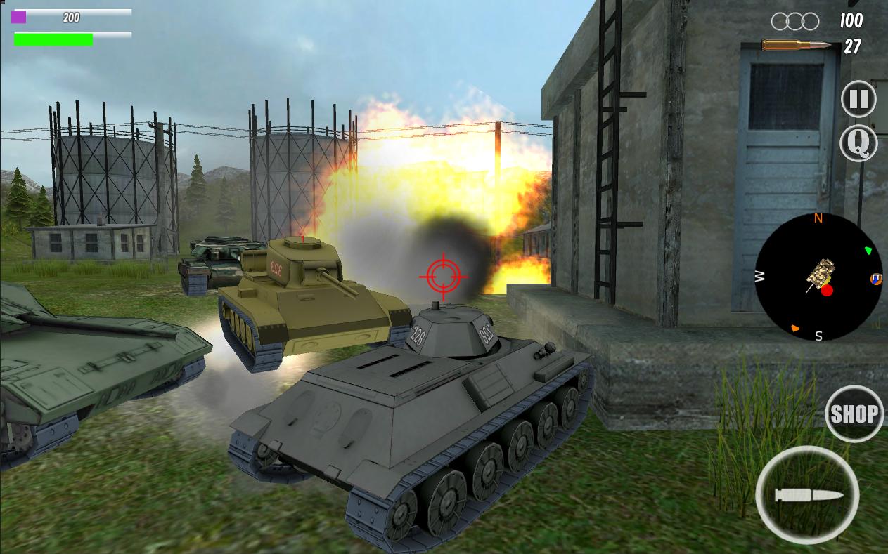Tank Insurgent 3D