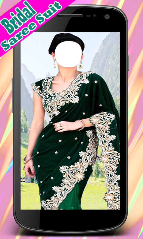 Women Bridal Saree Suits