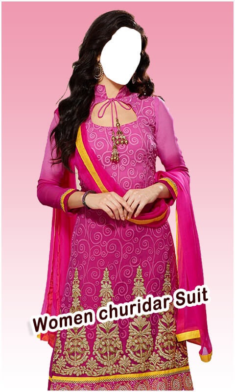 Women Churidar Suit HD