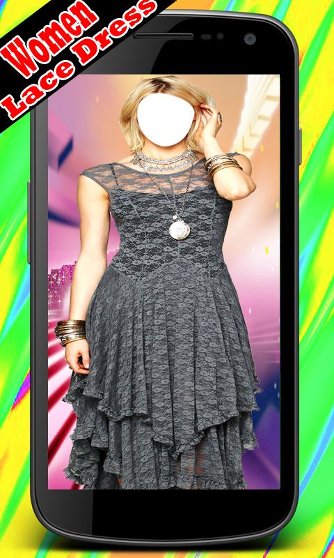 Women Lace Dress Suits