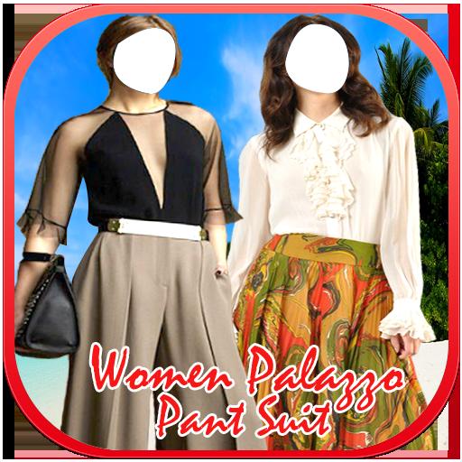 Women Palazzo Pant Suit New