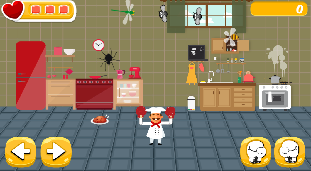 BoxingChef – The Bug Invasion
