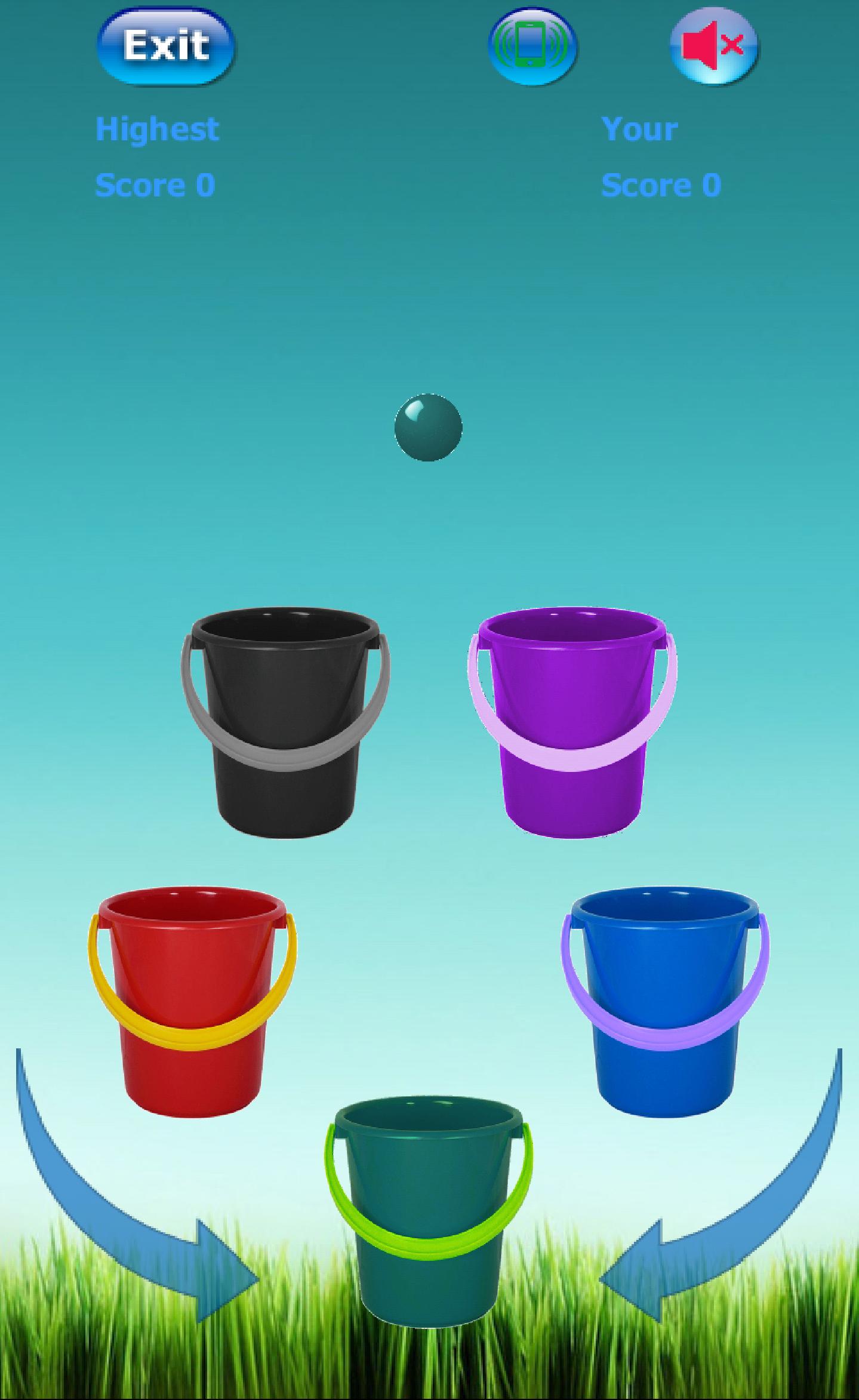 Bucket Roleta-Learn Colors Kid