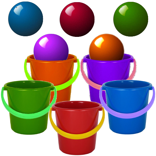 Bucket Roleta-Learn Colors Kid